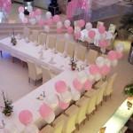 oformlenie vozdyshnimi sharami-svadba-gelievie shariki